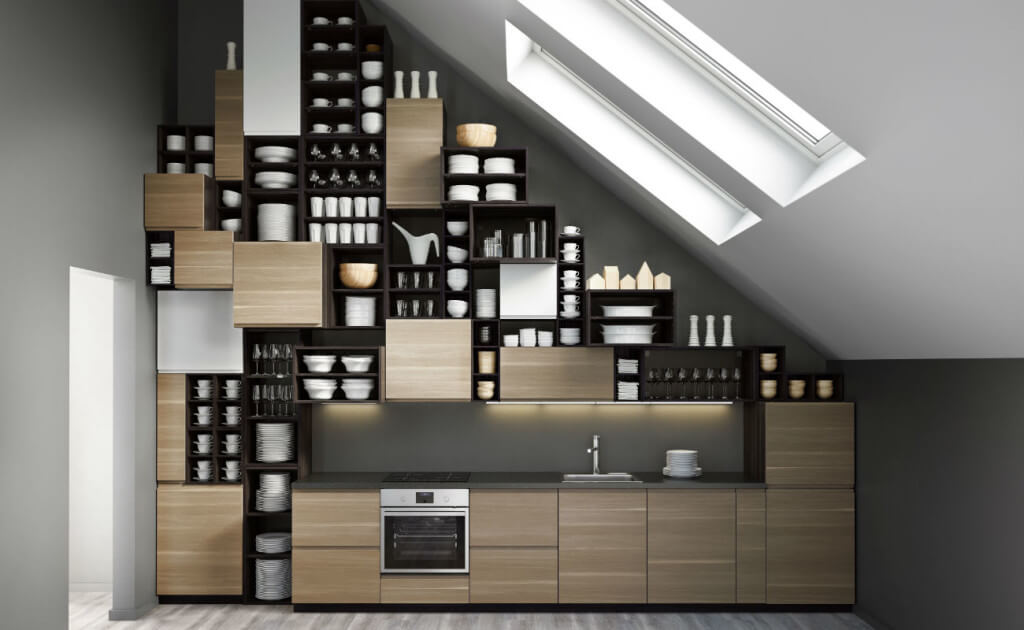 Küche im Dachgeschoss: Ideen und Tipps für die Küchenplanung ...