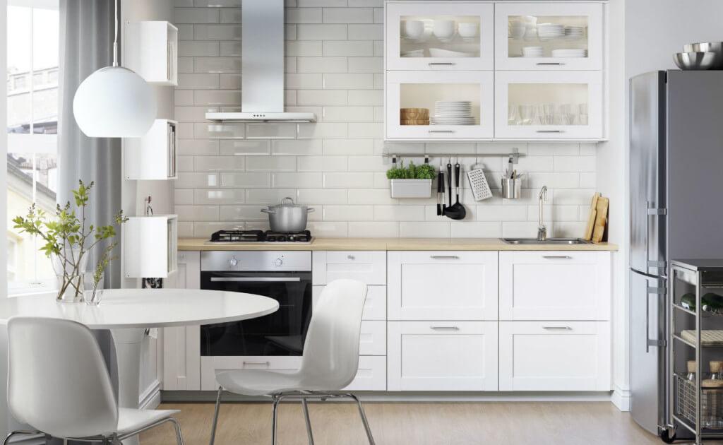 IKEA Küche Metod in Weiß PhotoCredit: IKEA Möbelvertrieb OHG