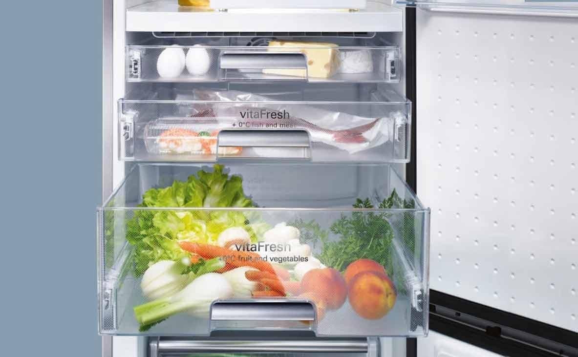 Siemens Kühlschrank Richtig Einräumen : Kühlschrank richtig einräumen und kühlen küchenfinder magazin