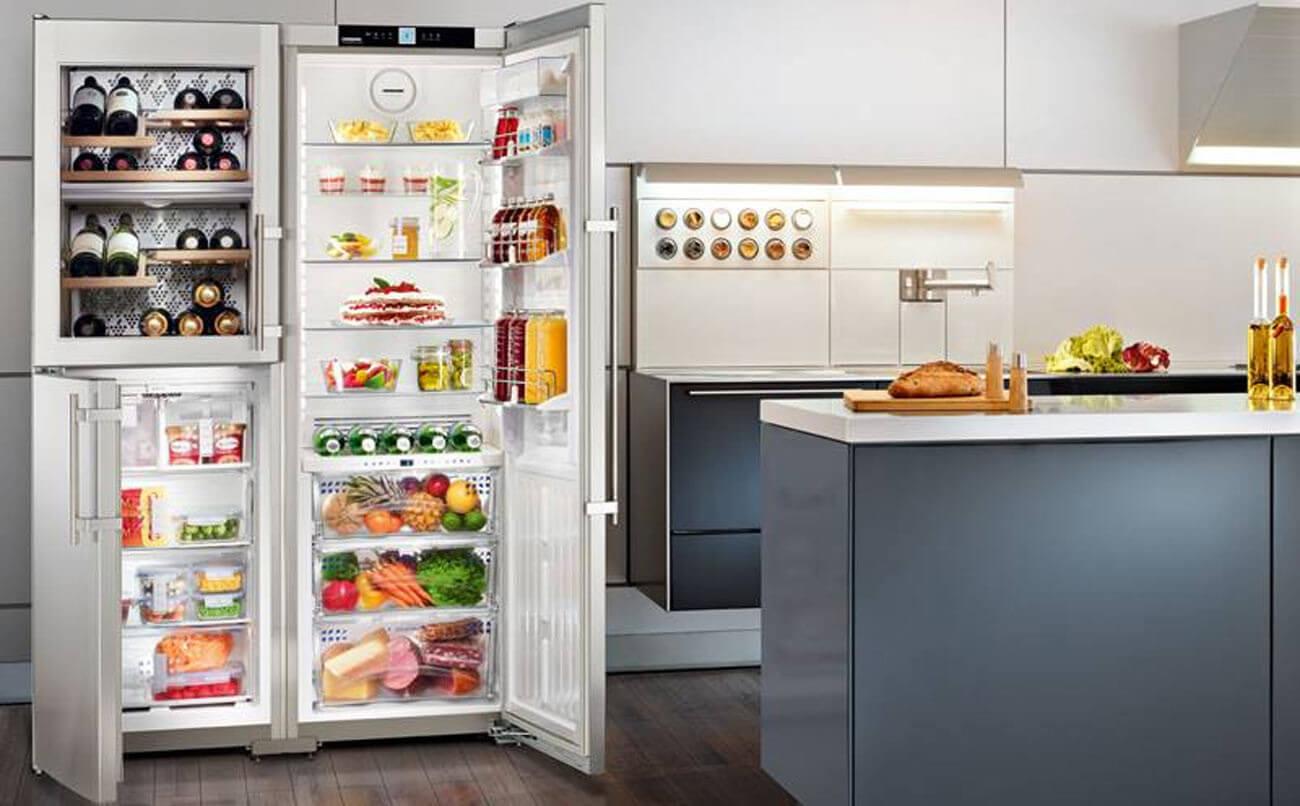 Side By Side Kühlschrank Küppersbusch : Kühlschrank richtig einräumen und kühlen küchenfinder magazin