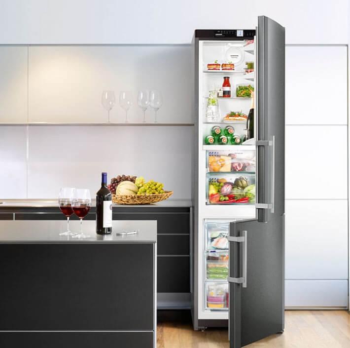 Kühl-Gefrier-Kombi von LIebherr; Foto: Liebherr