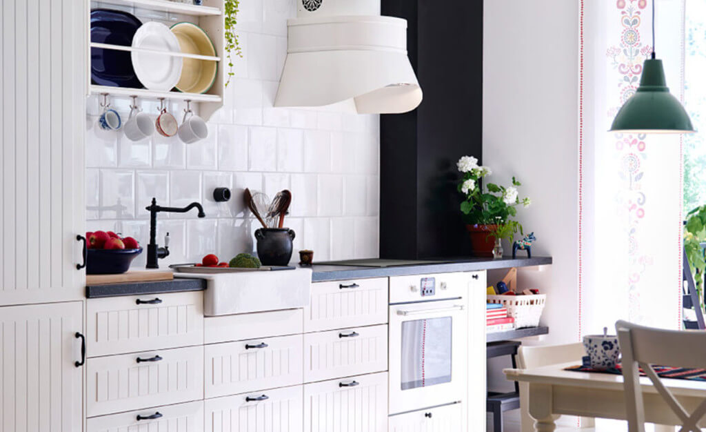 5 trendige ideen und bilder f r kleine k chenzeilen k chenfinder magazin. Black Bedroom Furniture Sets. Home Design Ideas