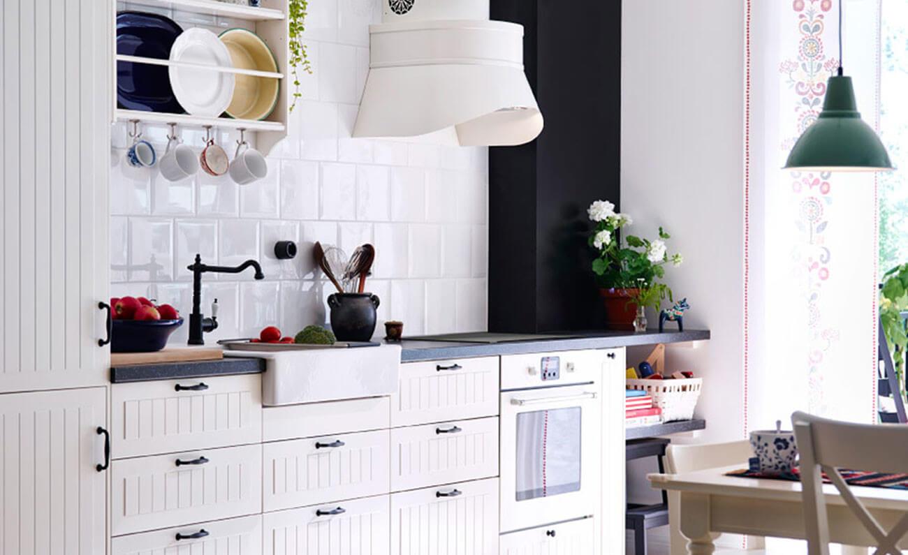 einrichtungstipps f r kleine k che 10 praktische ideen. Black Bedroom Furniture Sets. Home Design Ideas