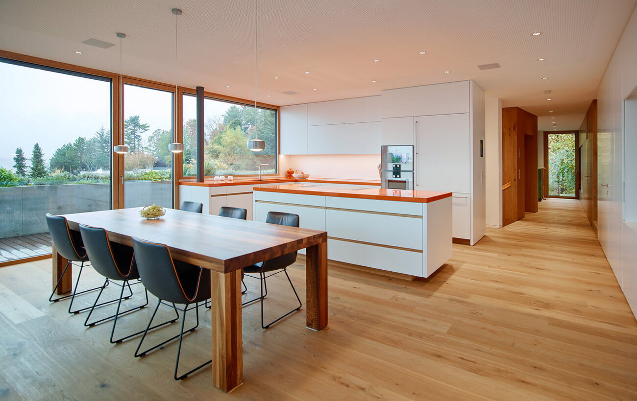 Beispiele für offene Küchen: 7 Ideen als Inspiration für deine ...