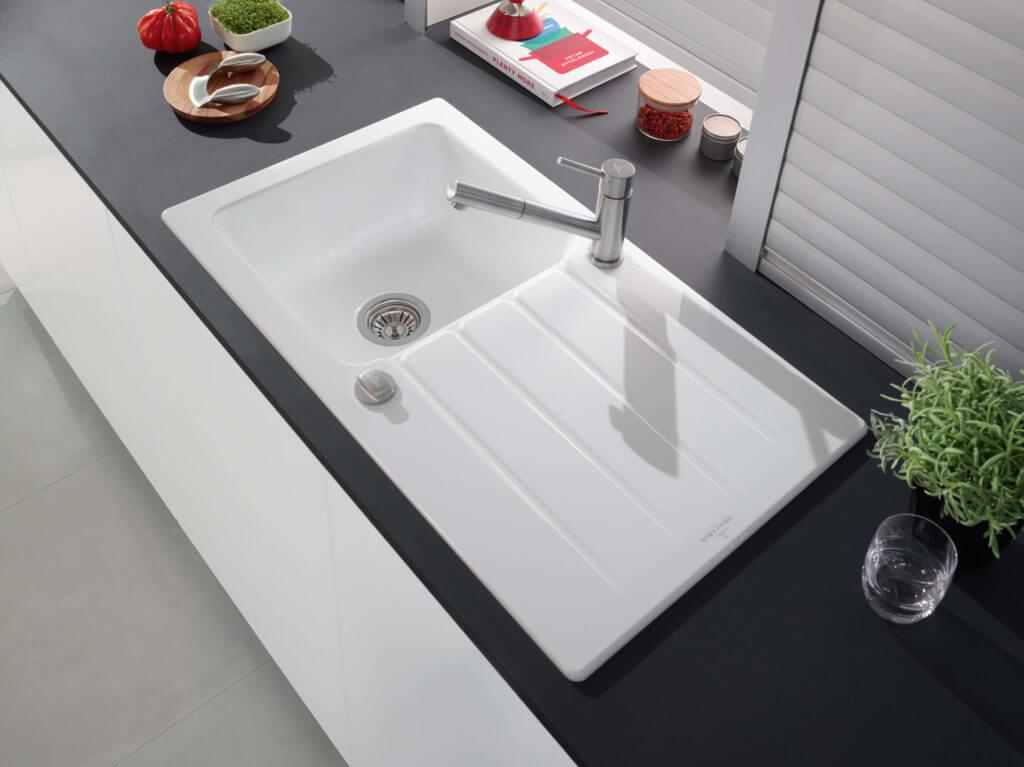 Keramik Waschbecken Küche | Edelstahl Keramik Glas Granit Oder Quarzkomposit Welches
