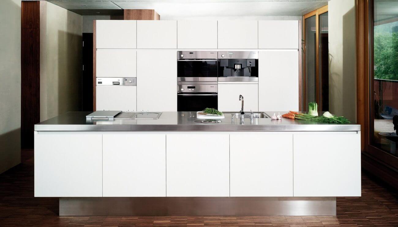 Weiße Küchen: 7 Ideen und Bilder für Küchen in Weiß ...