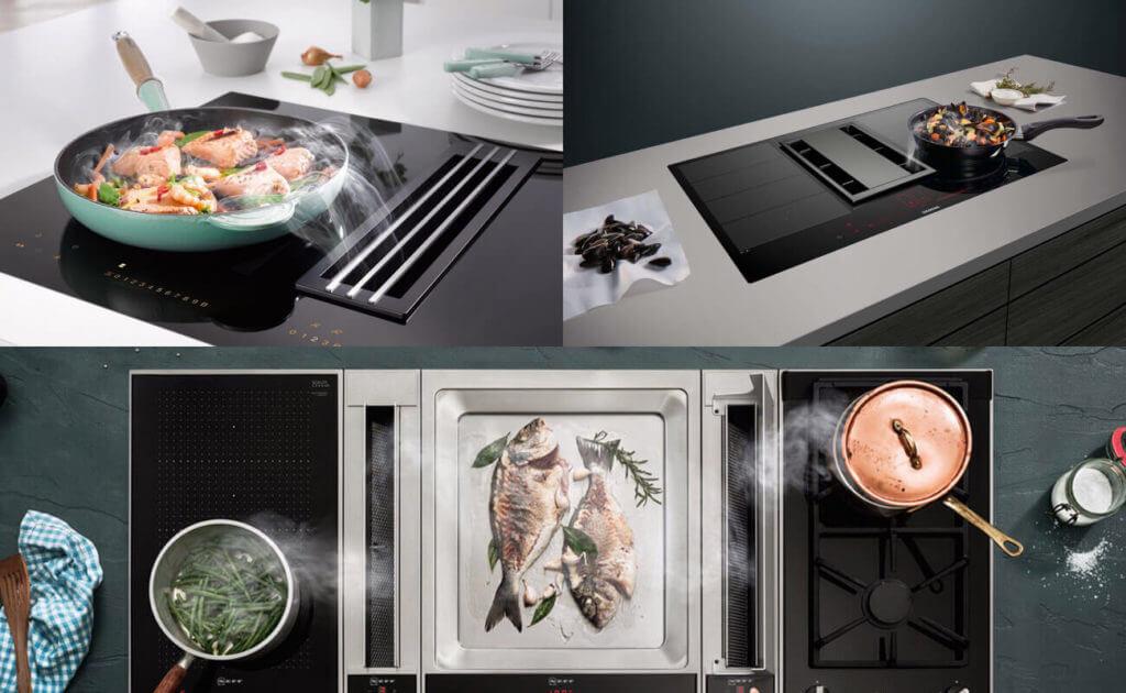 BORA Alternativen: Kochfeldabzug-Systeme von Miele, Siemens und Neff