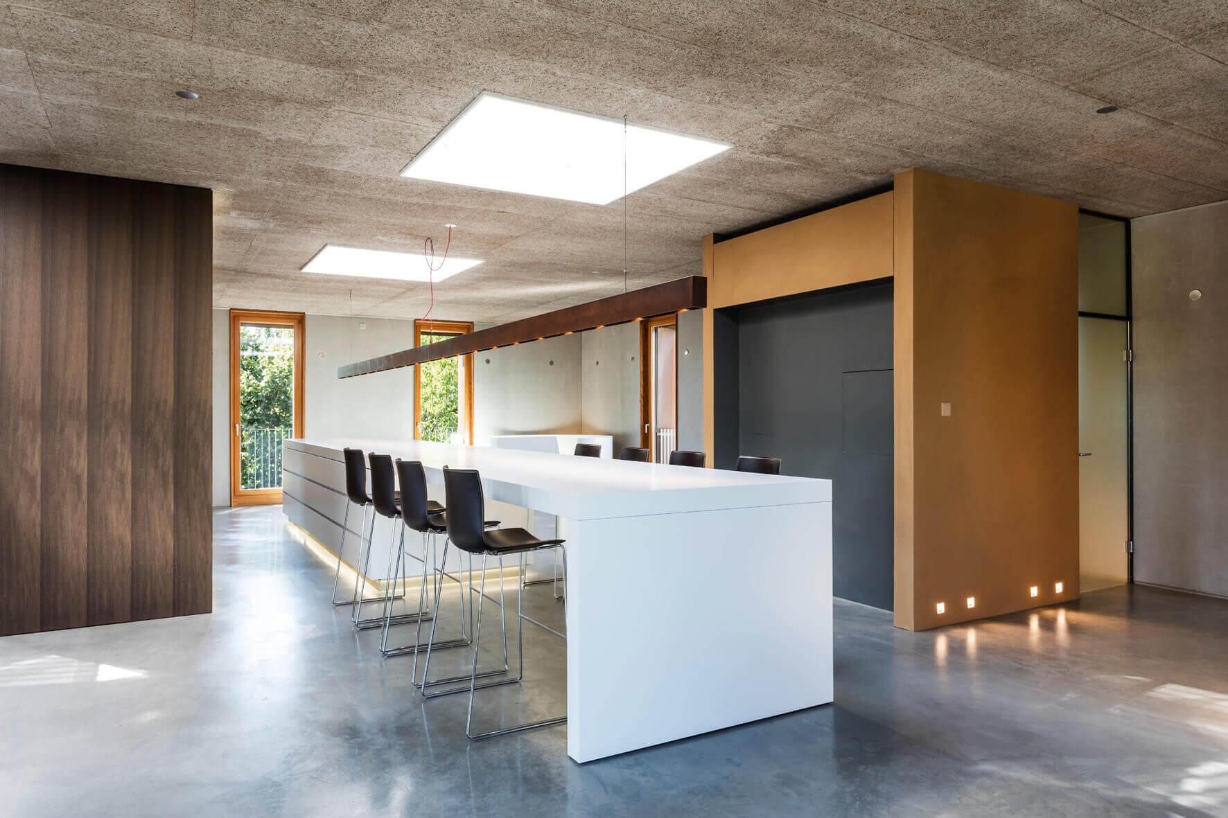 Küche loft foto rené lamb planung isoluzioni möbel minimal