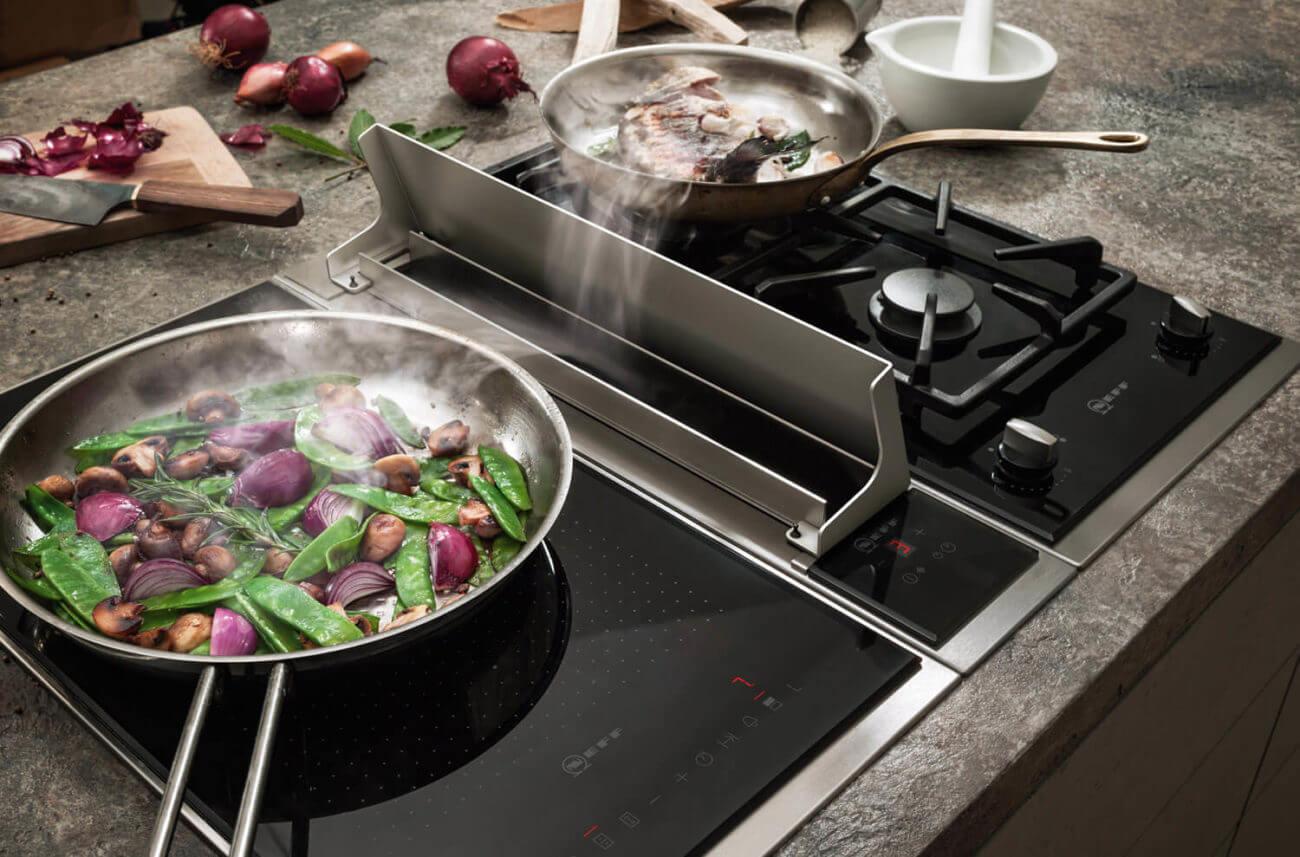 Integrierte dunstabzugshauben für ihre küche neff