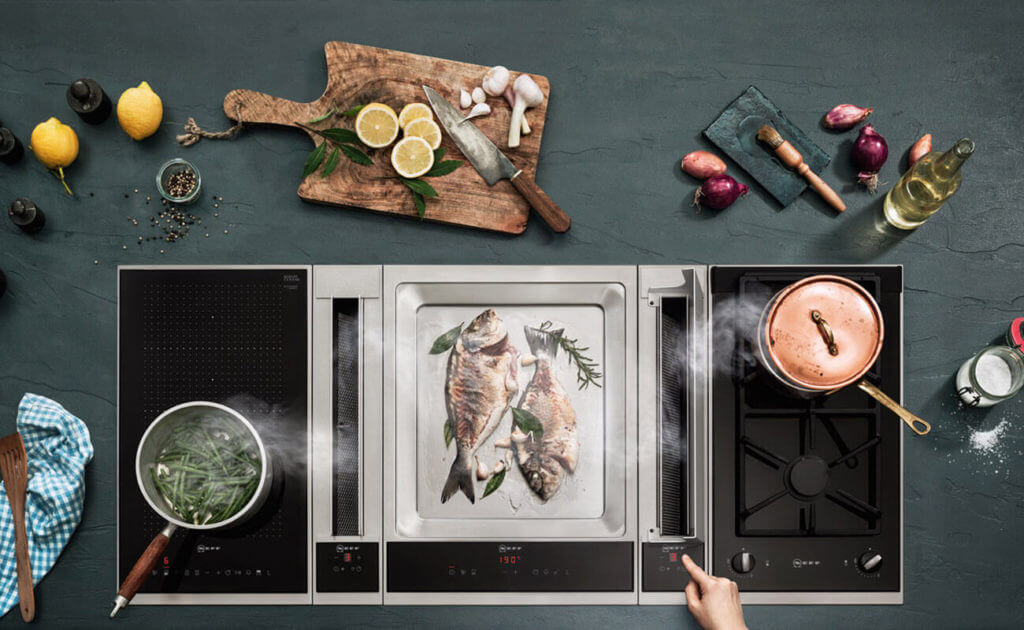Kochfeldabzug von NEFF; Foto: Neff