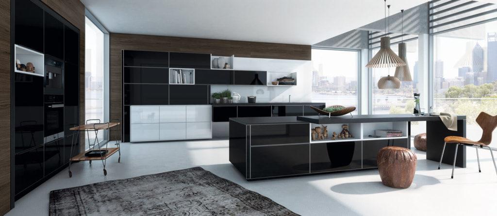 k che in schwarz matt oder hochglanz was ist besser k chenfinder magazin. Black Bedroom Furniture Sets. Home Design Ideas