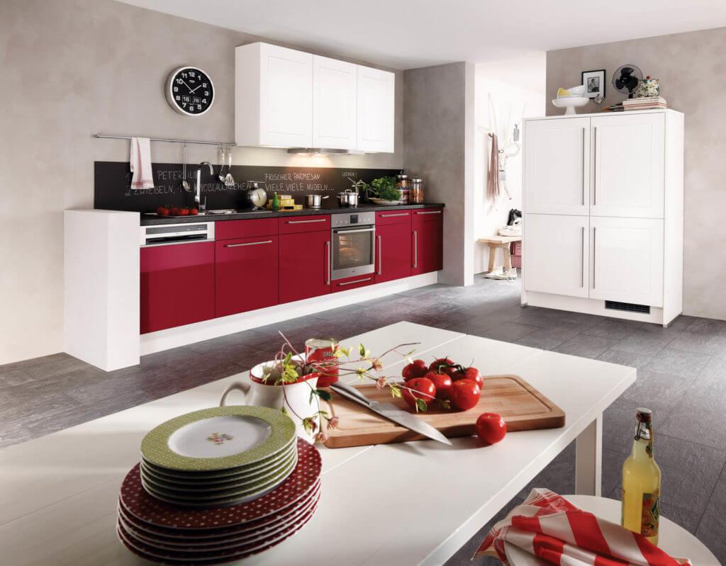 einzeilige k chen vorteile nachteile beispiele und bilder f r moderne k chenplanung. Black Bedroom Furniture Sets. Home Design Ideas