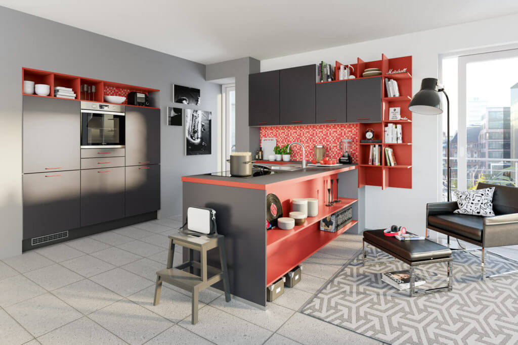 arbeitsplatten material vergleich unterschiede vor und nachteile von laminat mdf holz. Black Bedroom Furniture Sets. Home Design Ideas