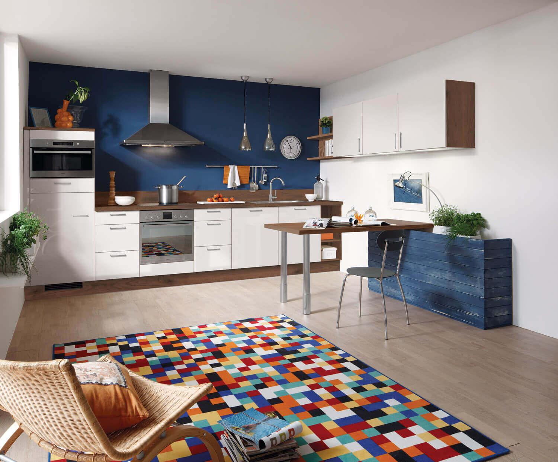 Ideen für die Küchen-Farbgestaltung: 11 Bilder von farbigen ...