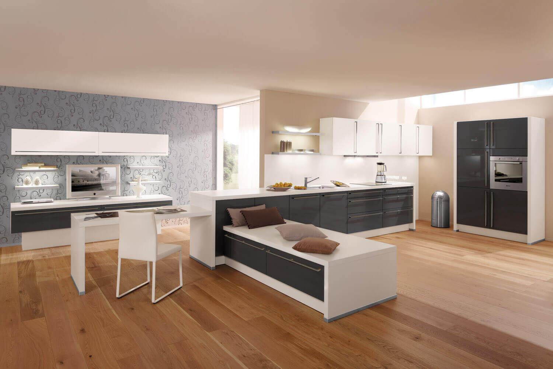 Küche mit Holzboden: 8 Bilder & Ideen von Küchen mit Parkett und