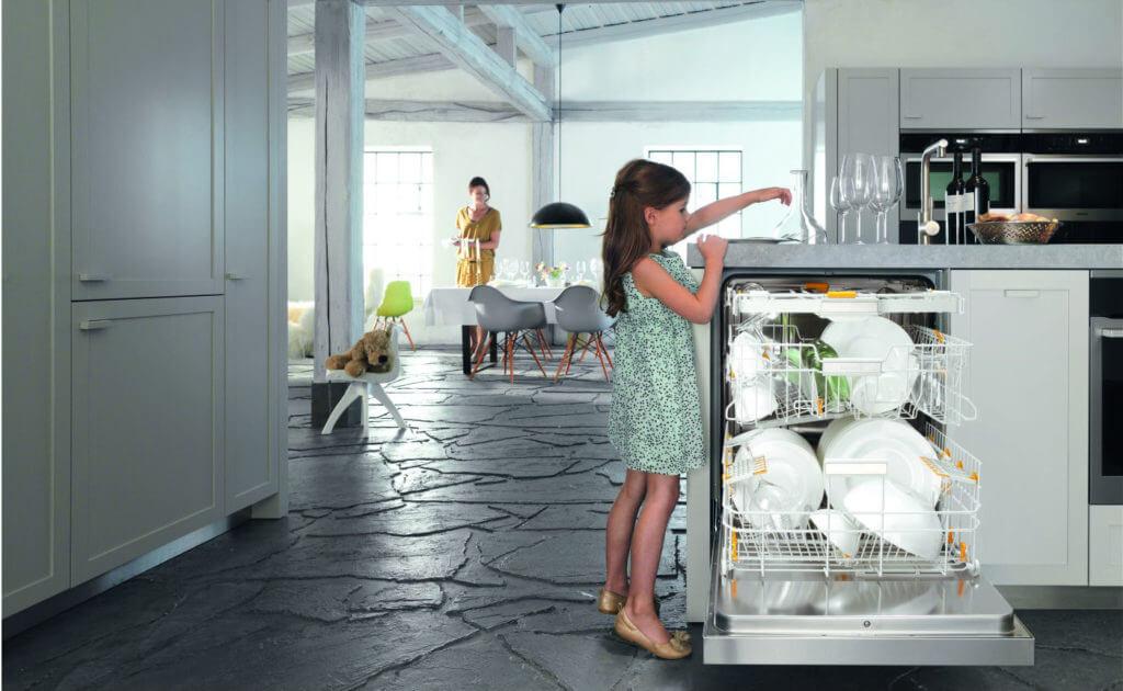 Spülmaschine optimal einräumen, Miele