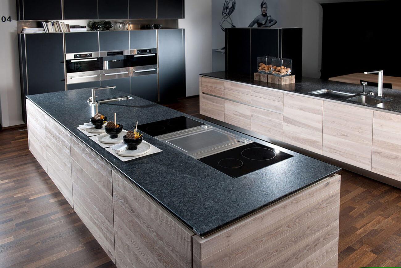 Küchenarbeitsplatte aus Granit: Vorteile, Nachteile, Reinigung und