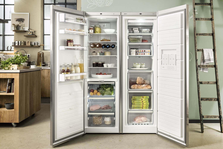 Side By Side Kühlschrank Farbig : Kühlschrank farbig test produkt vergleich video ratgeber