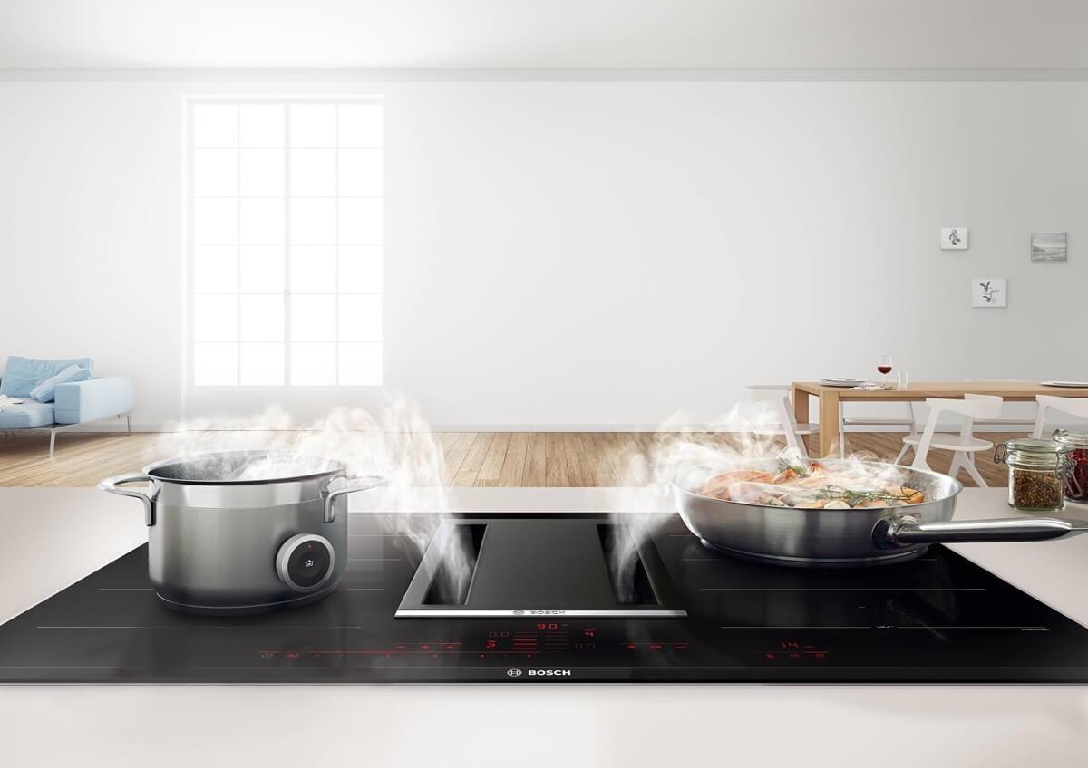 Bosch kochfeld mit integriertem dunstabzug: preis leistung bilder