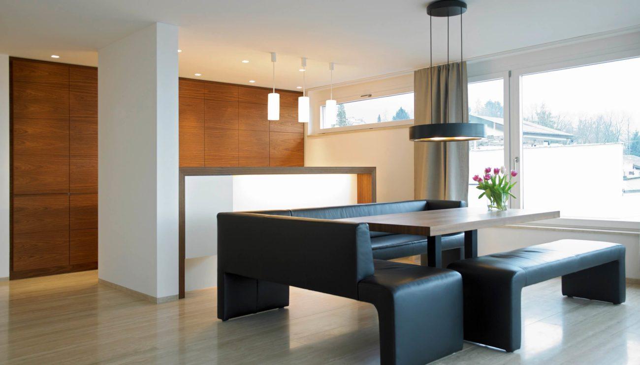 Küche mit Sitzbank - Ideen und Bilder für Sitzbänke aus Holz und ...