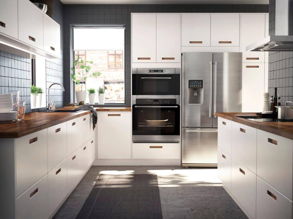 Küche Ikea U-Form; Foto: Inter IKEA Systems B.V.