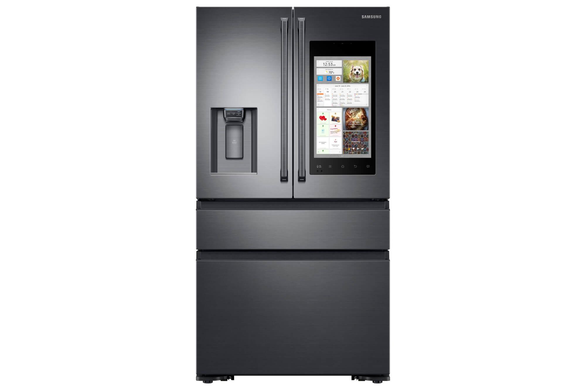 Der smarte Kühlschrank Family Hub 2.0 von Samsung