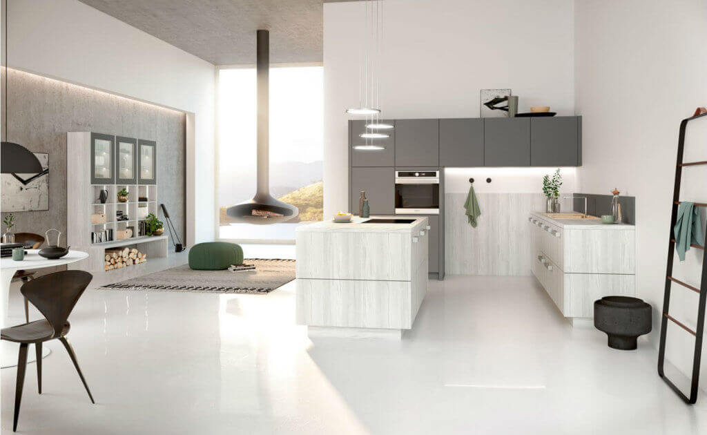 Offene Küche: Bilder, Ideen und Tipps für die Planung einer ...