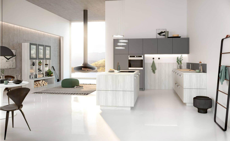 5 tipps und ideen f r die einrichtung einer offenen wohnk che k chenfinder magazin. Black Bedroom Furniture Sets. Home Design Ideas