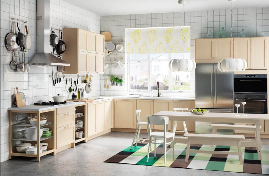 L-Form Küche von Ikea; Foto: Inter IKEA Systems B.V.