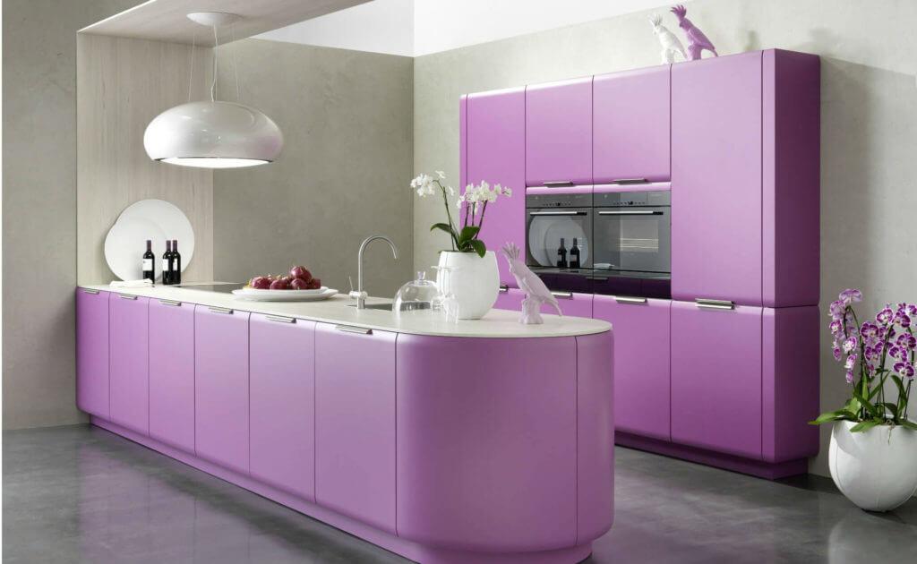 farbgestaltung der k che bilder und ideen f r farbige k chen k chenfinder. Black Bedroom Furniture Sets. Home Design Ideas