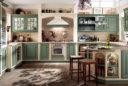 Landhausküche in Mint; Foto: Scavolini