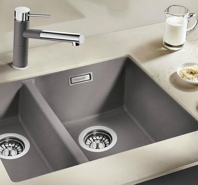 Küchenspüle Silgranit PuraDur von BLANCO. Foto: BLANCO Germany