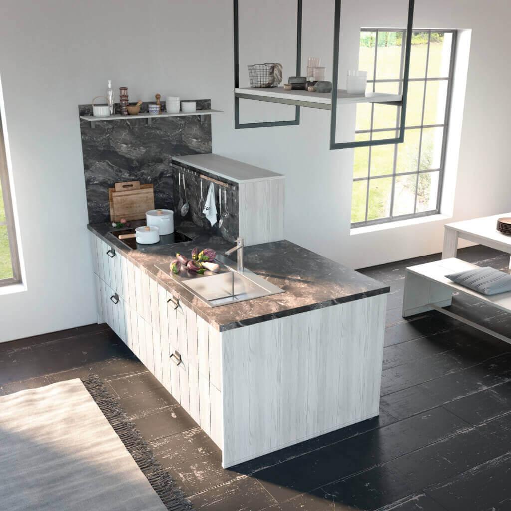 Marmor In Der Küche Die Schönsten Ideen Und Bilder Küchenfinder