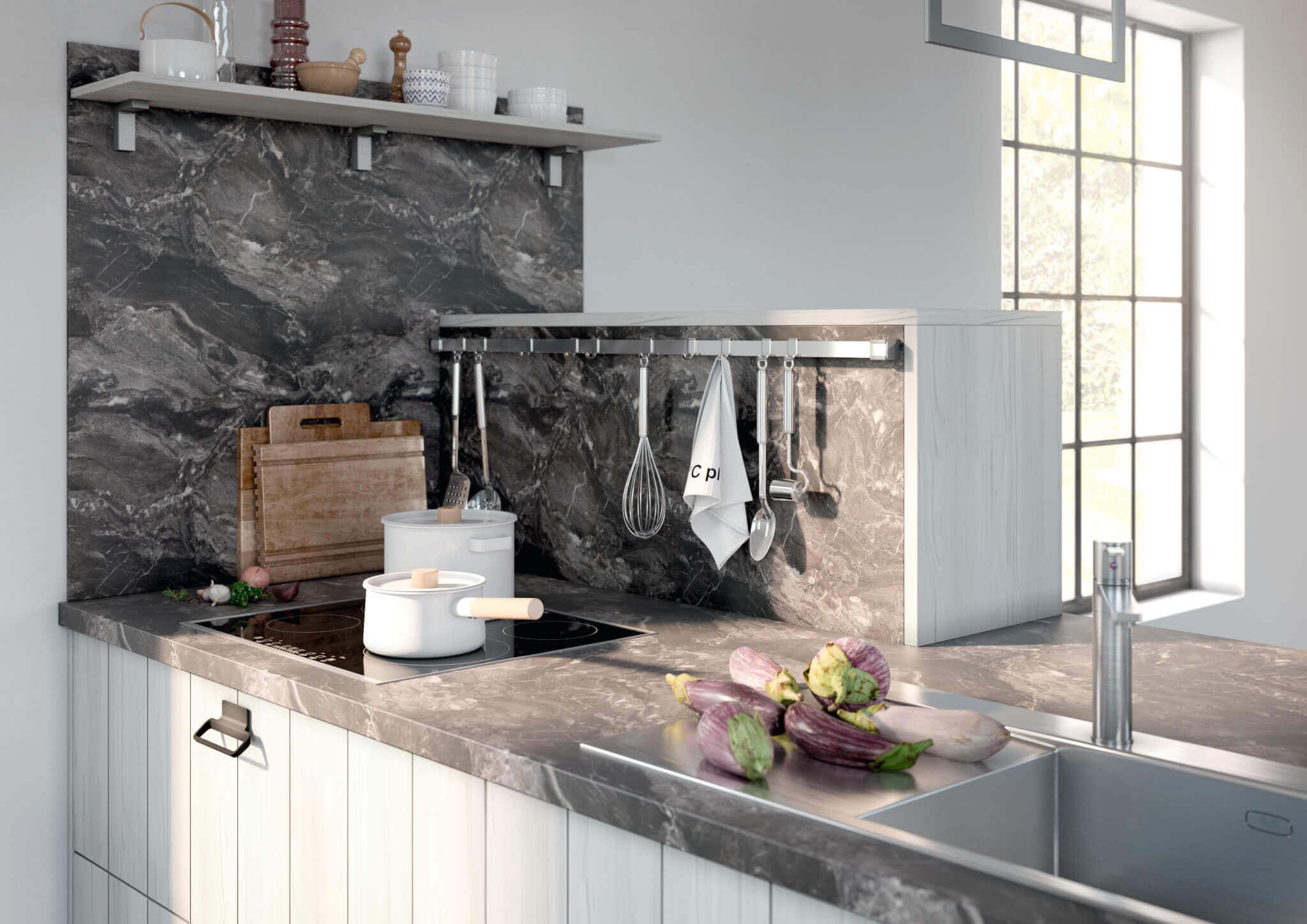 Marmor in der Küche: Die schönsten Ideen und Bilder - Küchenfinder