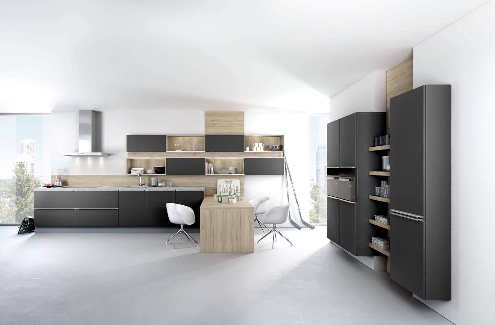 zweizeilige k chen vorteile nachteile beispiele und bilder f r moderne 2 zeilige k chen. Black Bedroom Furniture Sets. Home Design Ideas