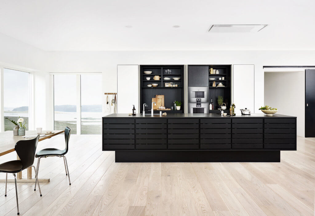 Küche in Schwarz: matt oder Hochglanz? Was ist besser ...