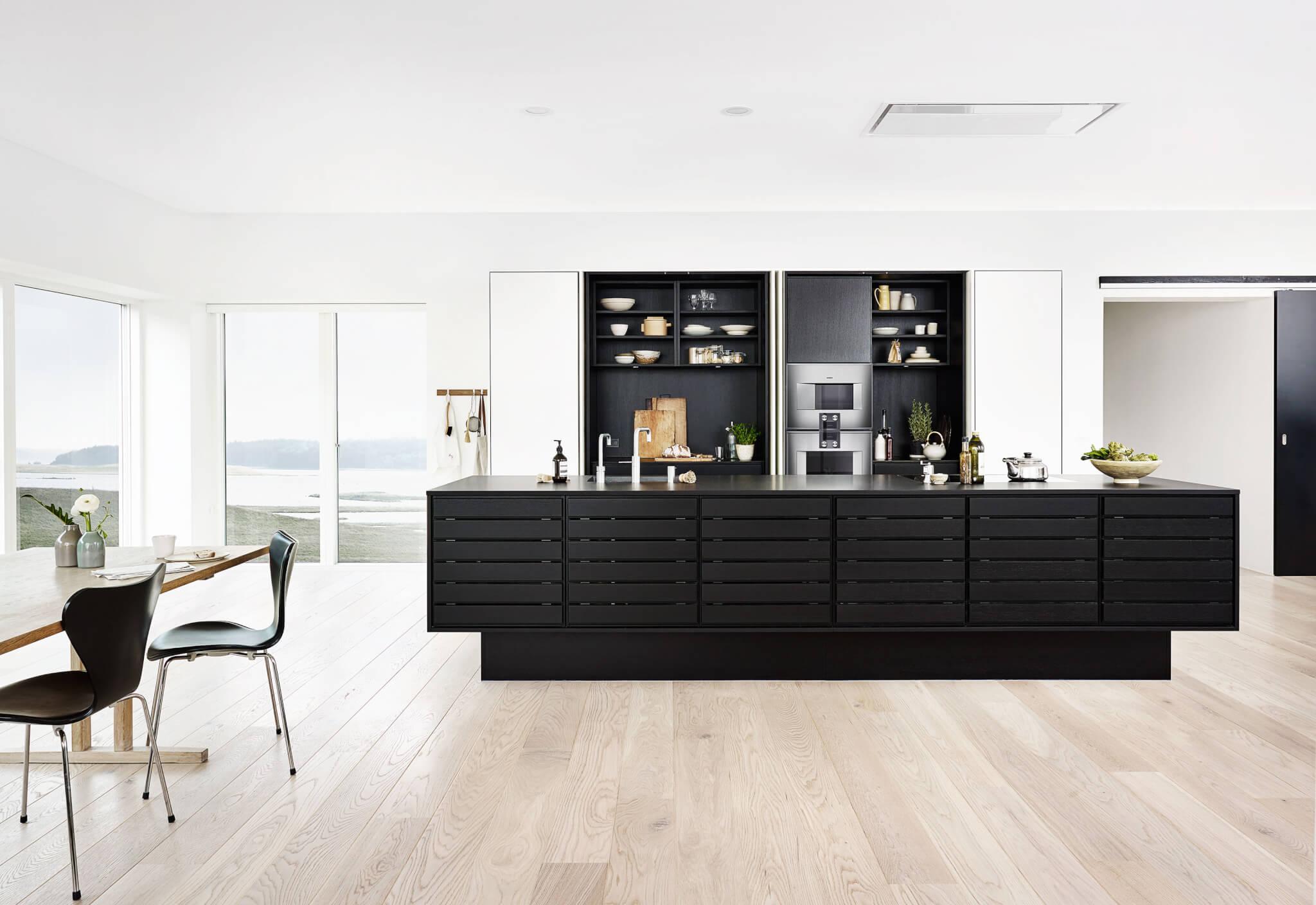 Kochinsel maße wie groß ist der ideale abstand zwischen küchenzeile und kücheninsel küchenfinder magazin