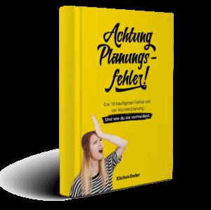 Küchenfinder E-Book: Achtung Planungsfehler