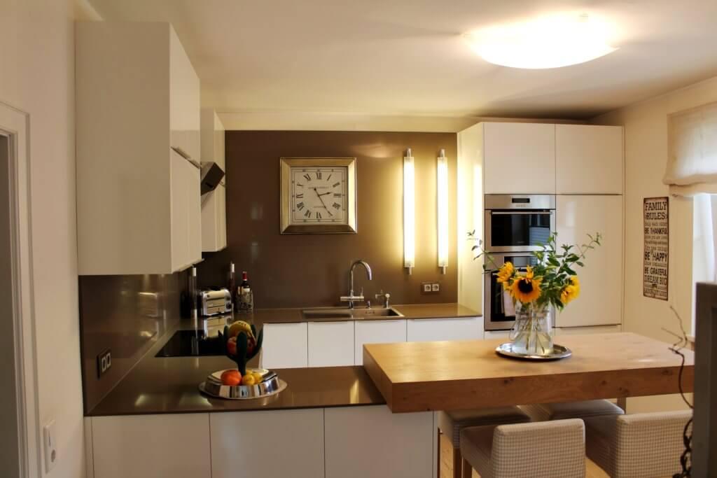In dieser Küche kocht Raumausstatter Herbert Toferer; Foto: Innenarchitektur Toferer
