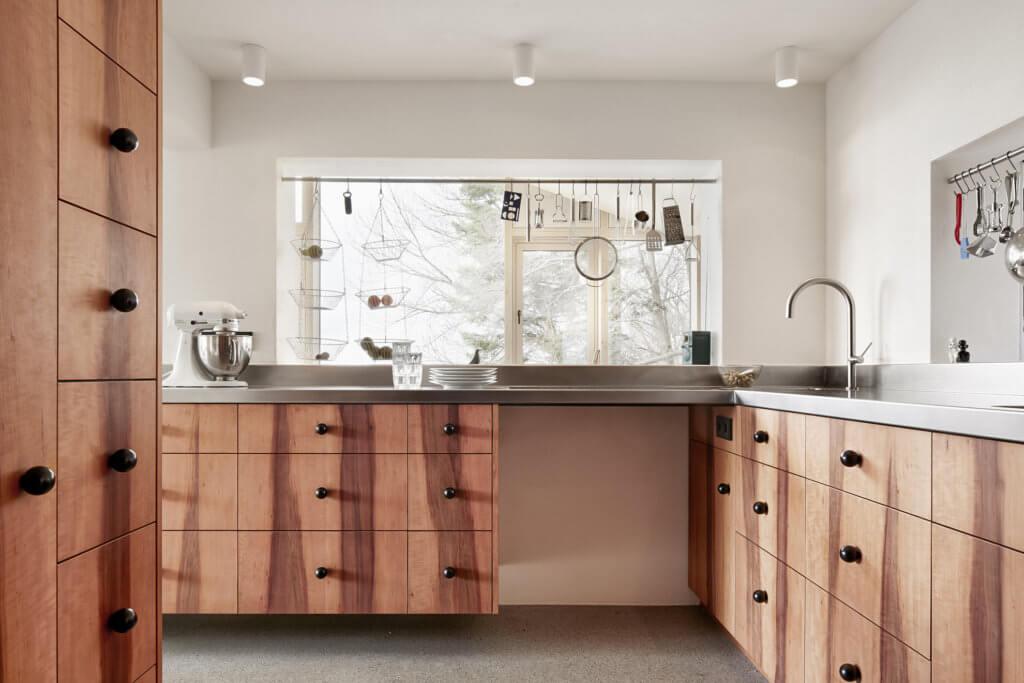 Holzküche von Walter Stuerer Tischlerei Holzig; Foto: holzig