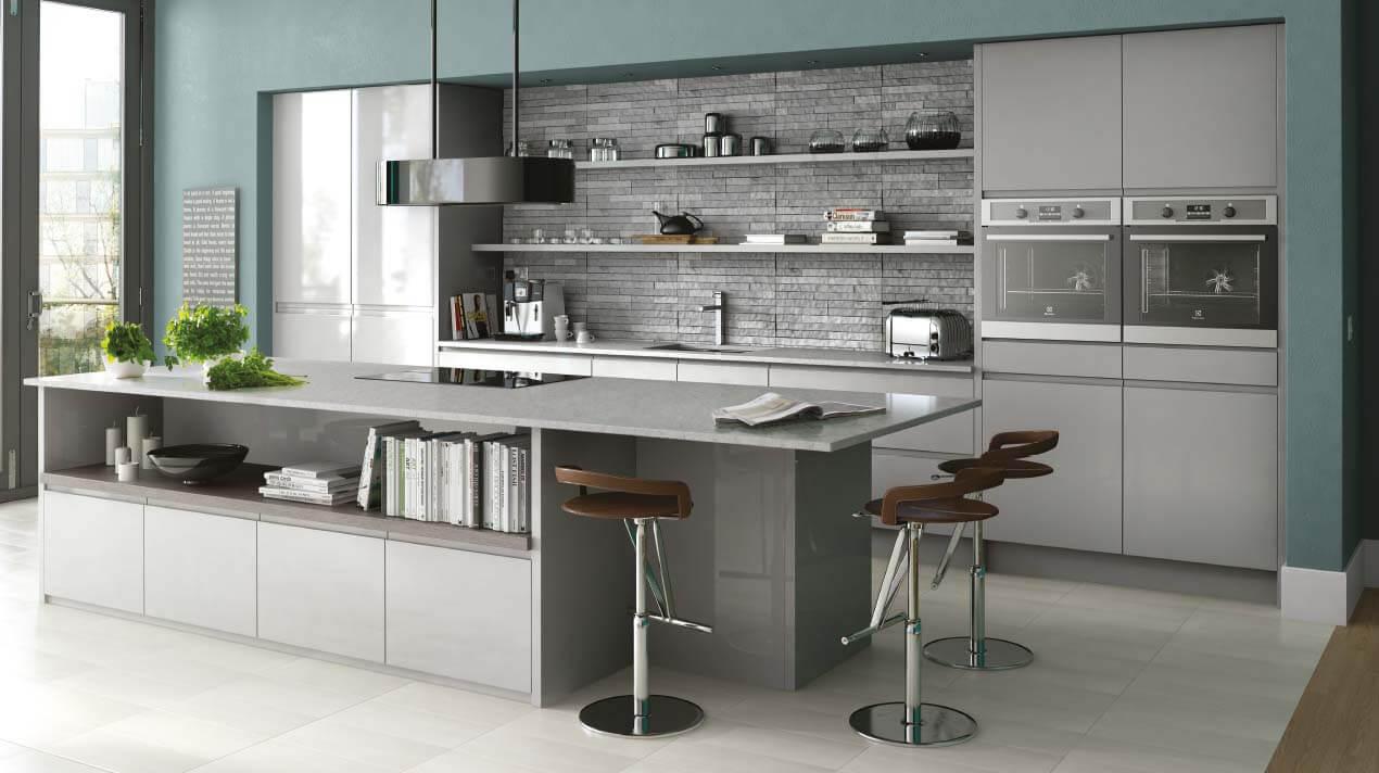 Küche mit Arbeitsplatte aus Beton Ciré; Foto: Sheraton