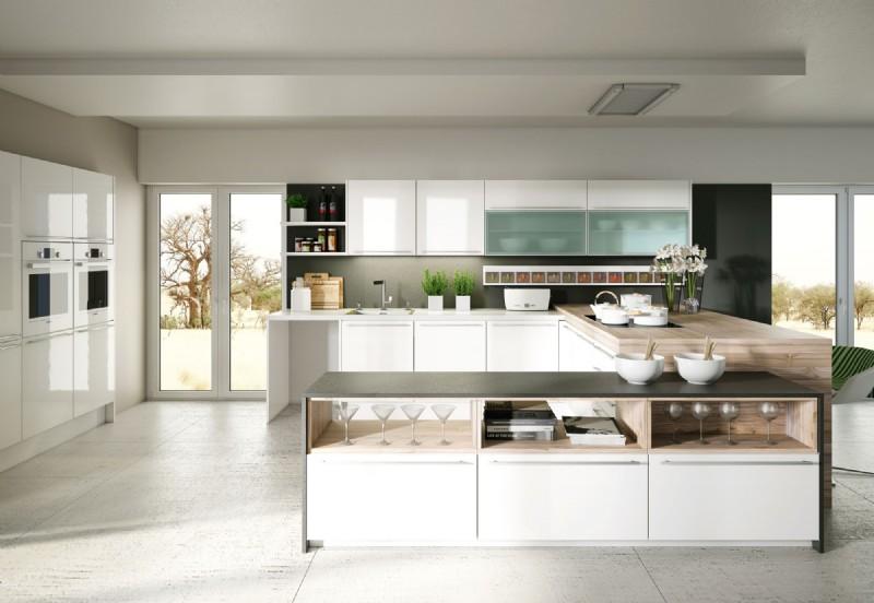 Luxuiröse Designer-Küche von Scala; Foto: Dan Küchen