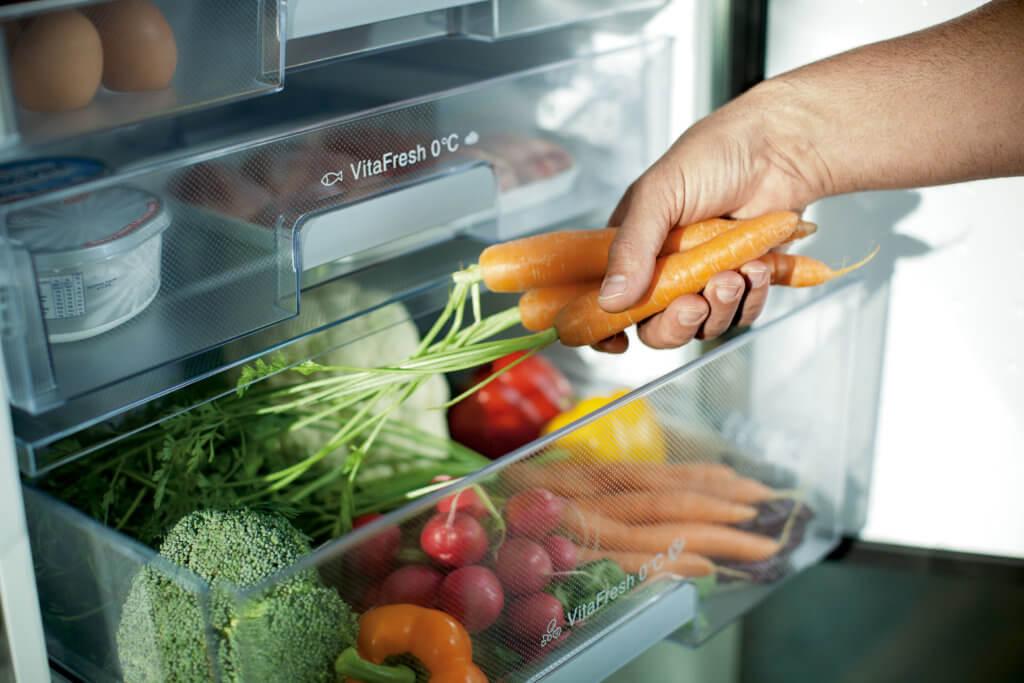 Kühlschrank mit Null-Grad-Zone; Foto: © Neff