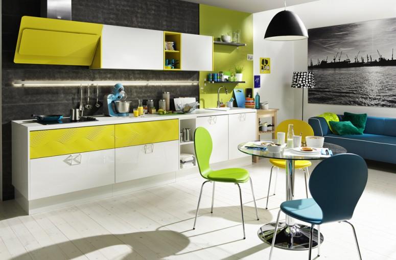 Praktische Küche für wenig Platz; Foto: Dan Küchen