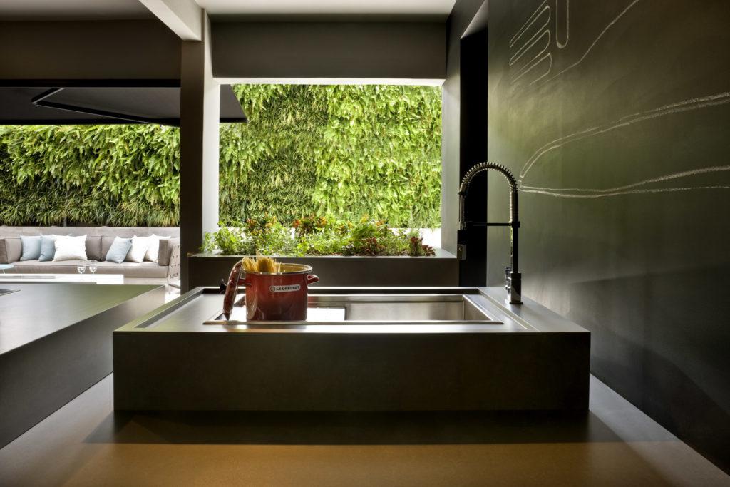 Küche mit Silestone Spüle Integity; Foto: Silestone Consentino