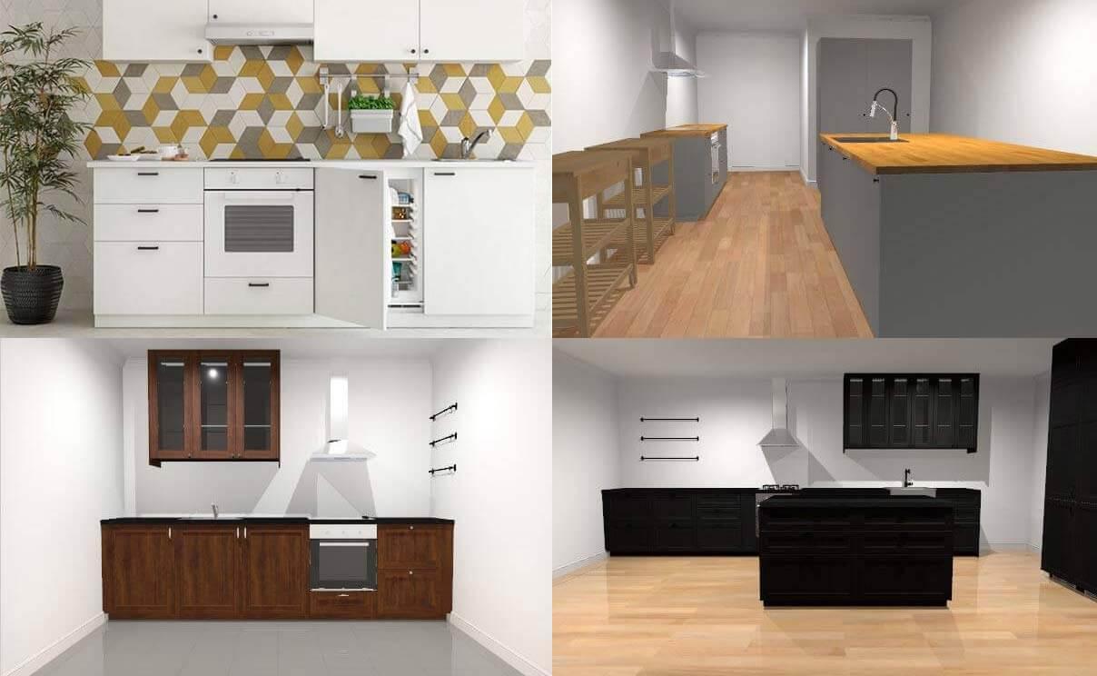 IKEA Online-Küchenplaner: 20 praktische Vorlagen für die 20D
