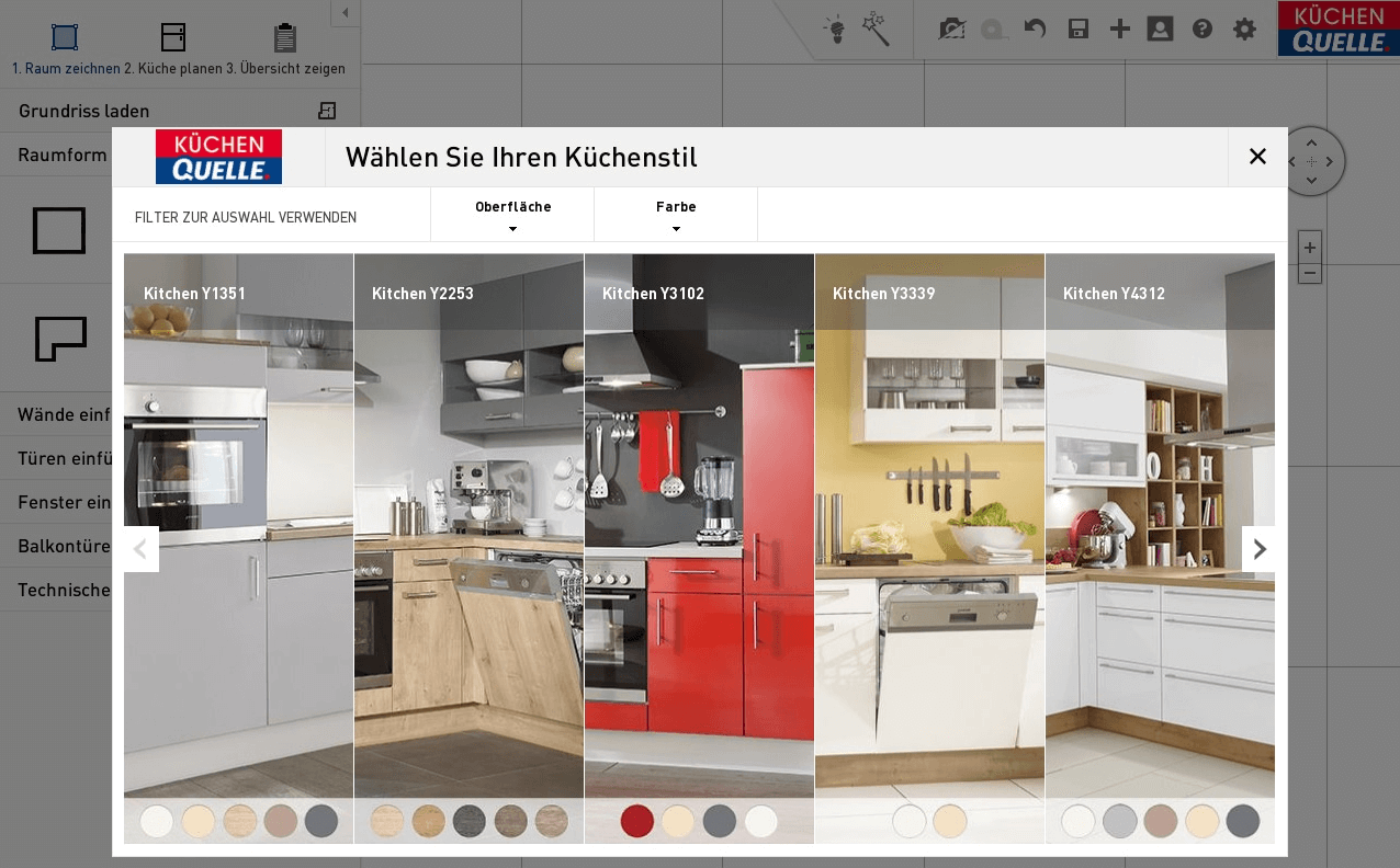 Die besten 19D Küchenplaner: Online-Küchenplanung bei nobilia, Ikea