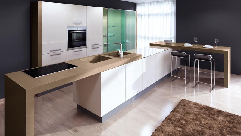 Selbst weiße Küchen sehen nach jahrelanger Nutzung wie neu aus; Foto: © Lechner