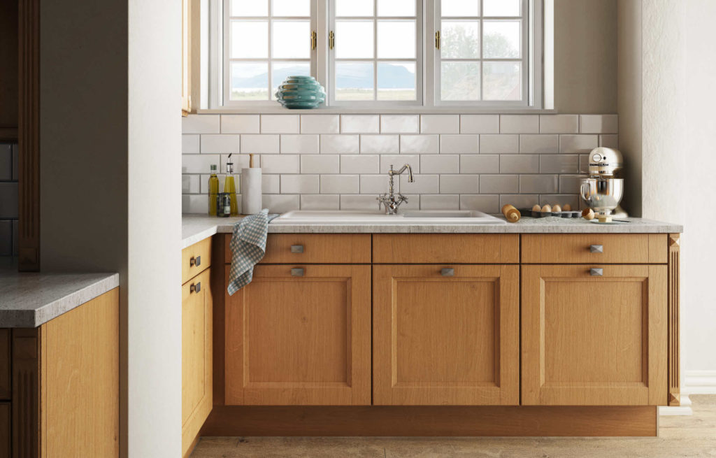 Küchenrückwand aus Glas, Stein, Holz, Laminat oder Metall ...