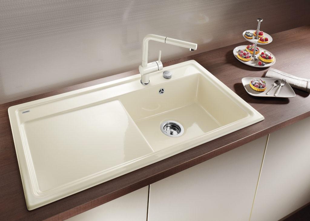Keramikspüle Küche | Farbige Spulen Von Blanco Bunte Einbauspulen Aus Silgranit Und